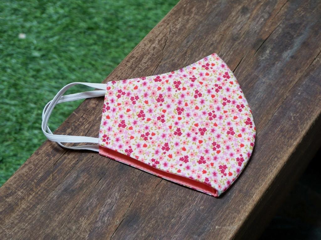 Fabric mask - pink mini floral (2).jpg