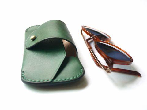Sunglasses case - Forest green (6).jpg