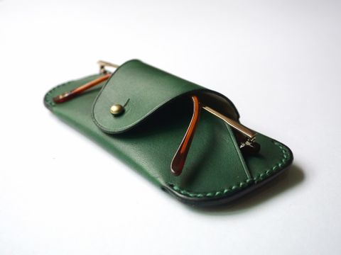 Sunglasses case - Forest green (11).jpg