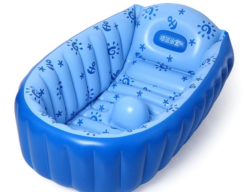 INFLATABLE BABY BATH TUB SWIMMING POOL (BLUE) – Vizo Group Sdn Bhd ...