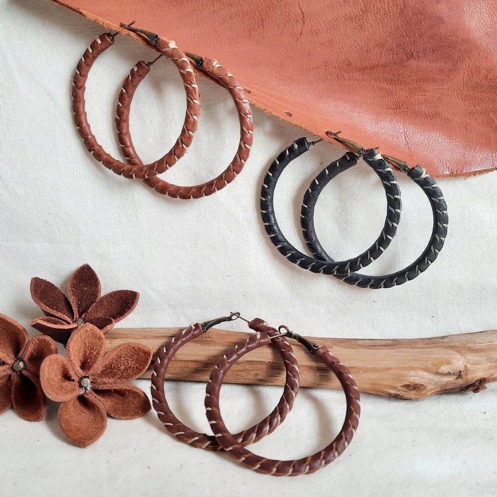 KE72 50mm Hoop  Stiched Earrings 03.jpg