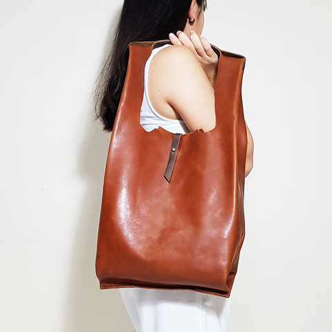 LEATHER SINGLET SHOULDER BAG - COPPER B.jpg