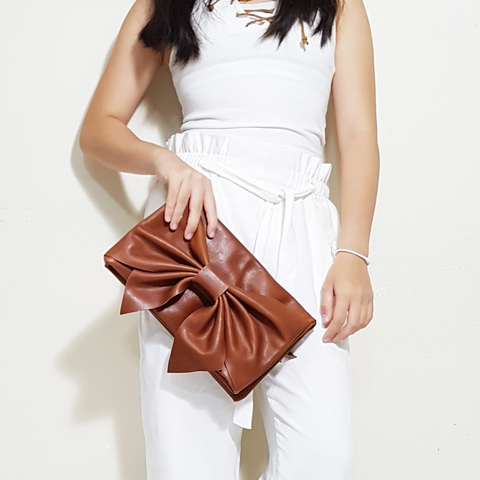 LEATHER BOW CLUTCH - COPPER B.jpg