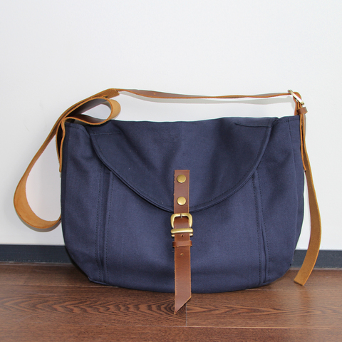 Leather Strap Sling Bag meansurement and pockets.jpg