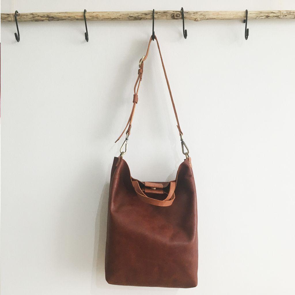 LEATHER Tote Sling Handheld Bag 16.jpg