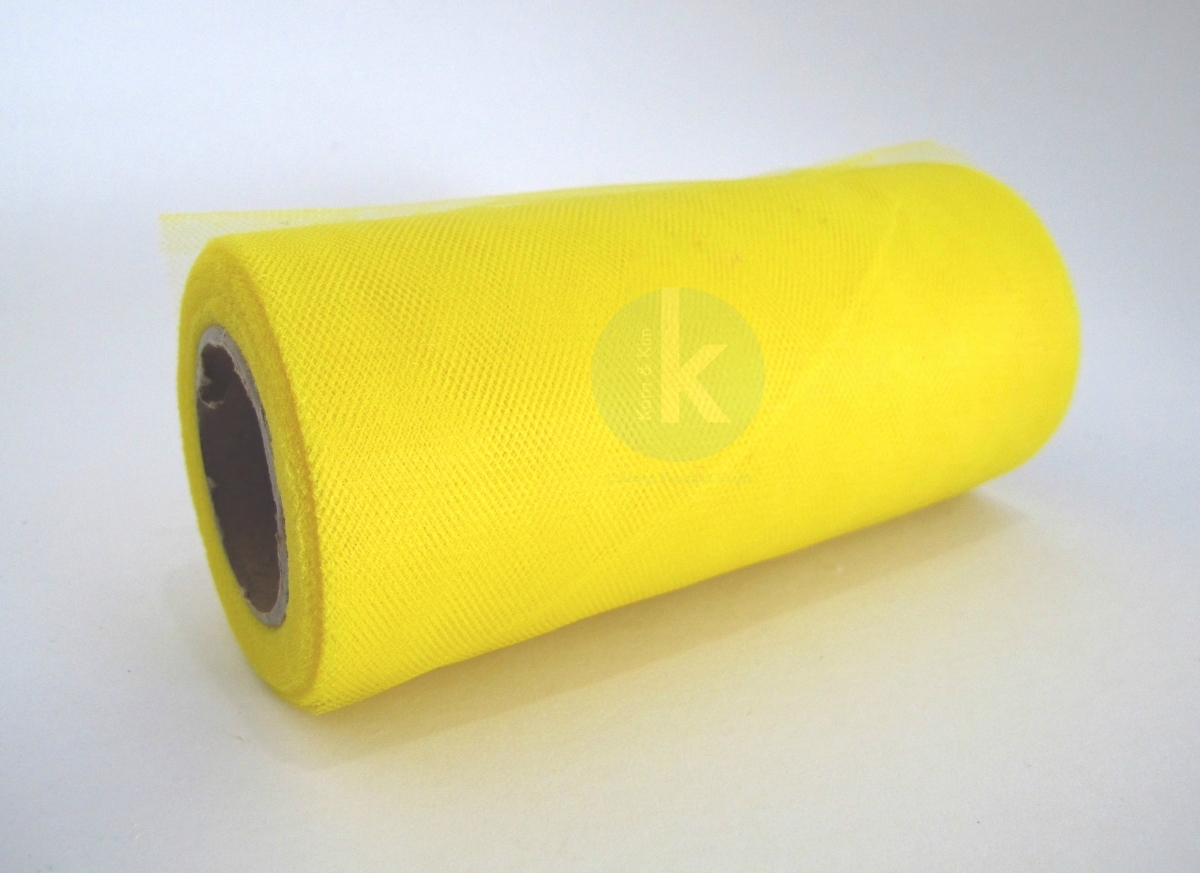 TULLE ROLL - BRIGHT YELLOW