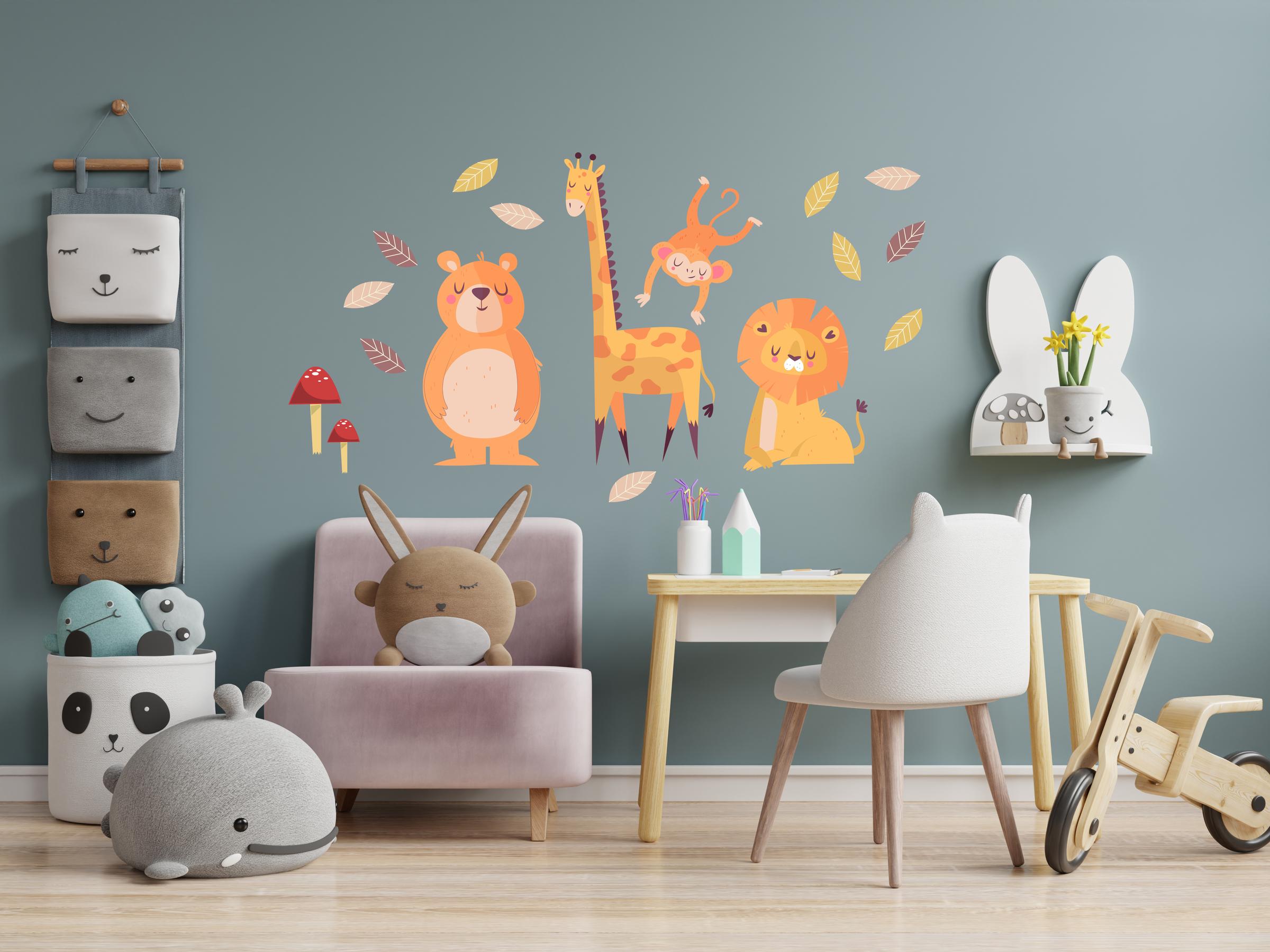 Removable sticker cute animals visual.jpg