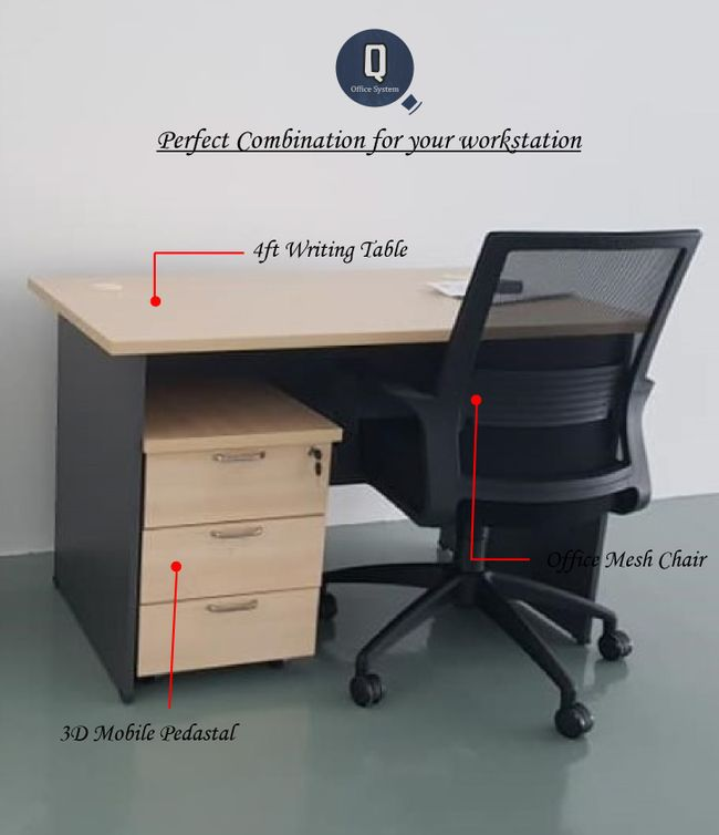 Q Office System | Our Collection - Office Table