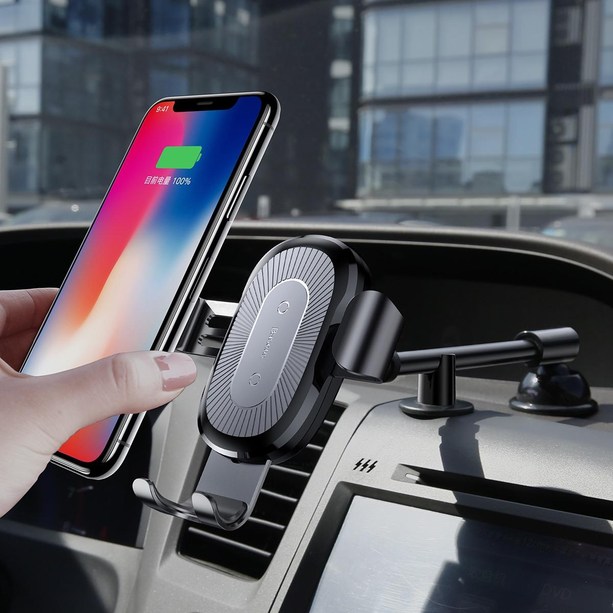 GRAVITY WIRELESS CHARGER BASEUS CAR MOUNT (OSCULUM TYPE)_8.jpg