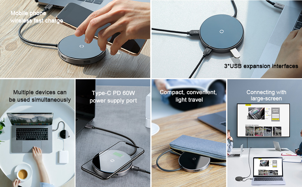 m2deals.my_Baseus Circular Mirror Wireless Charger HUB (TYPE-C to USB 3.0_2.jpg
