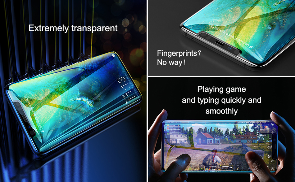 Baseus Huawei Mate20 Pro 0.3mm Anti-bluelight Full Cover Curve Black Tempered Glass_2.jpg