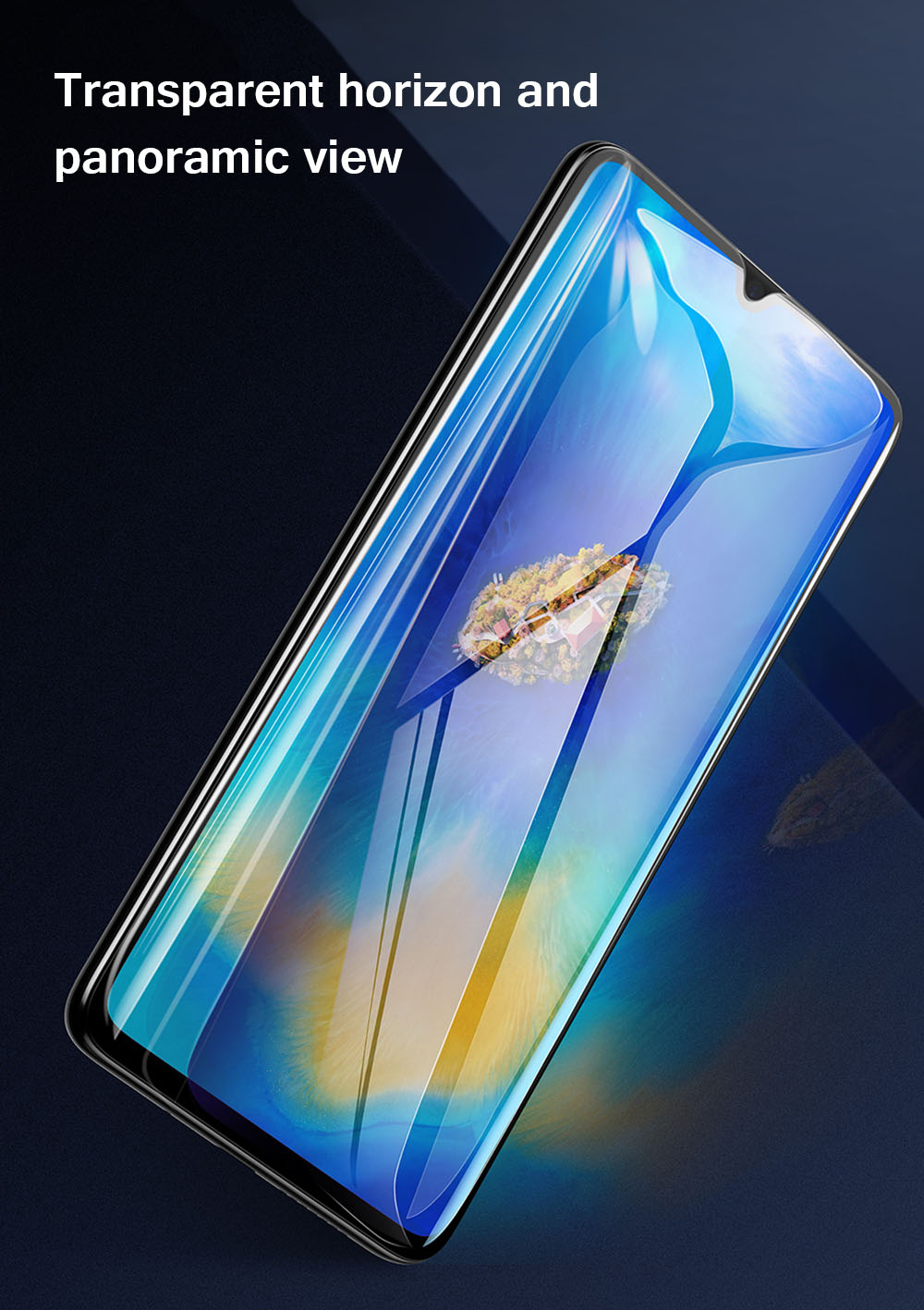 1542052479462955814Baseus Huawei Mate20 0.3mm Full Cover Curve Black Tempered Glass_10.jpg