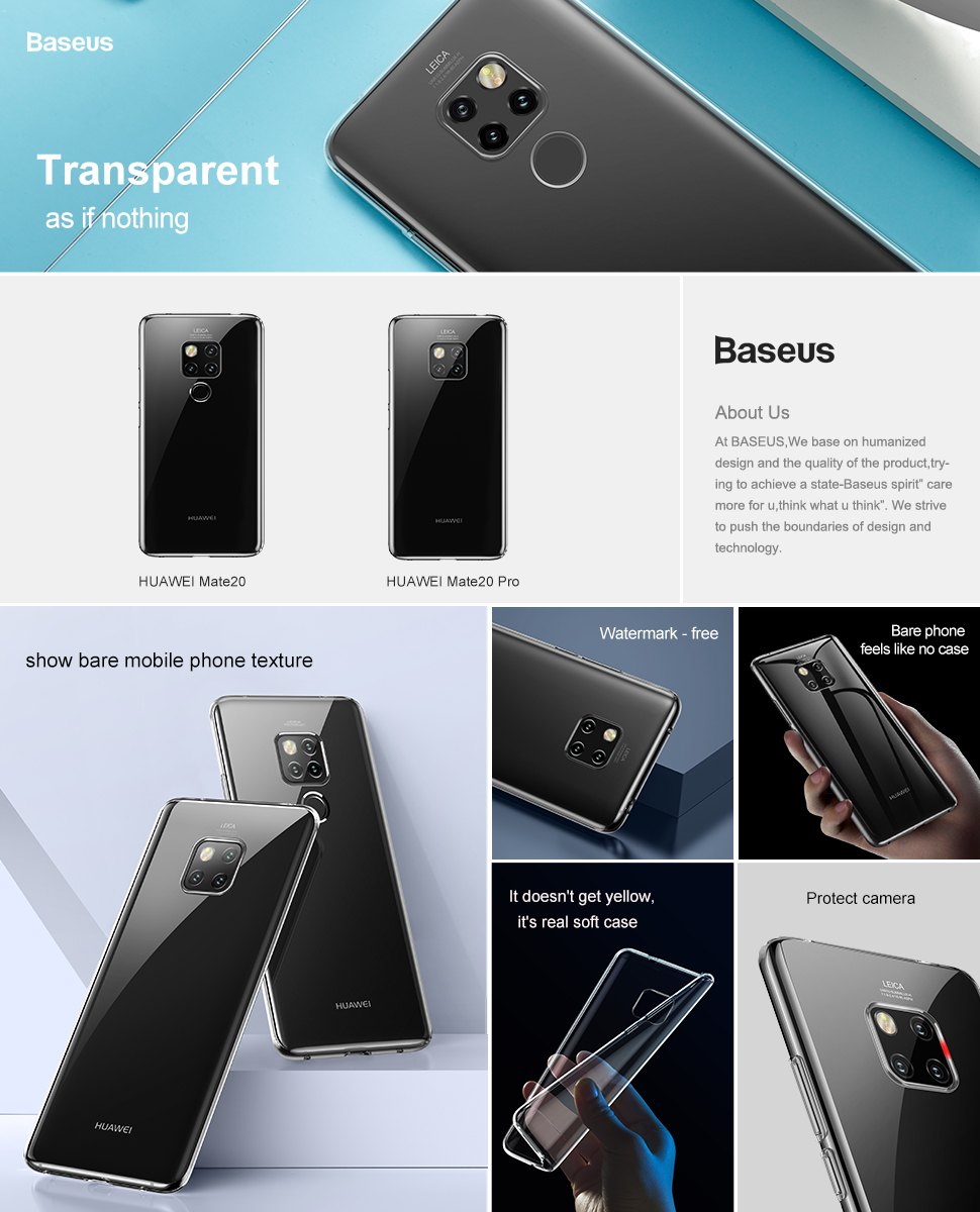 Baseus Simple Case For HUAWEI mate20 AND MATE 20 PRO Transparent_2.jpg
