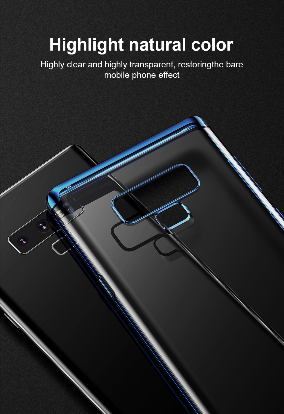 Baseus Shining Case For Note 9 Black and blue_8.jpg