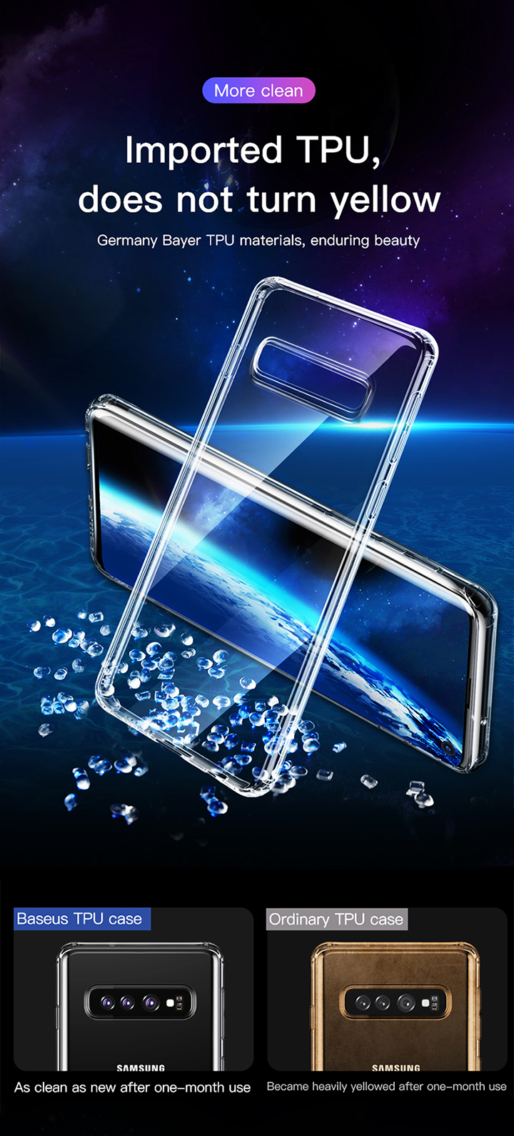 Baseus Simple Case For S10 and S10P Transparent_6.jpg