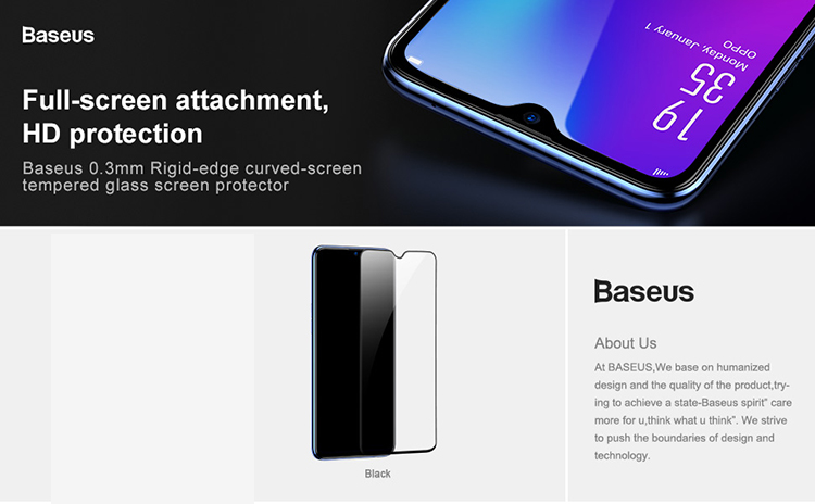 Baseus Oppo R17 0.3mm Full Cover Curve Black Tempered Glass_15.jpg