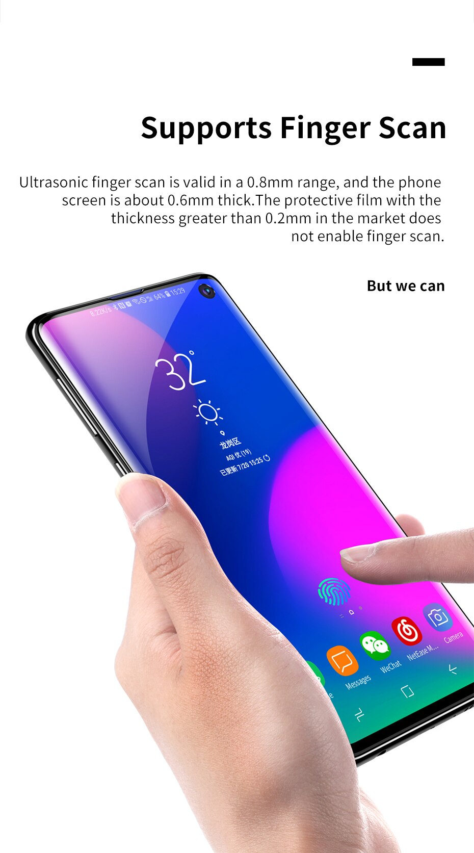 Baseus Samsung S10 0.15mm full-screen curved anti-explosion Black soft screen protector_5.jpg