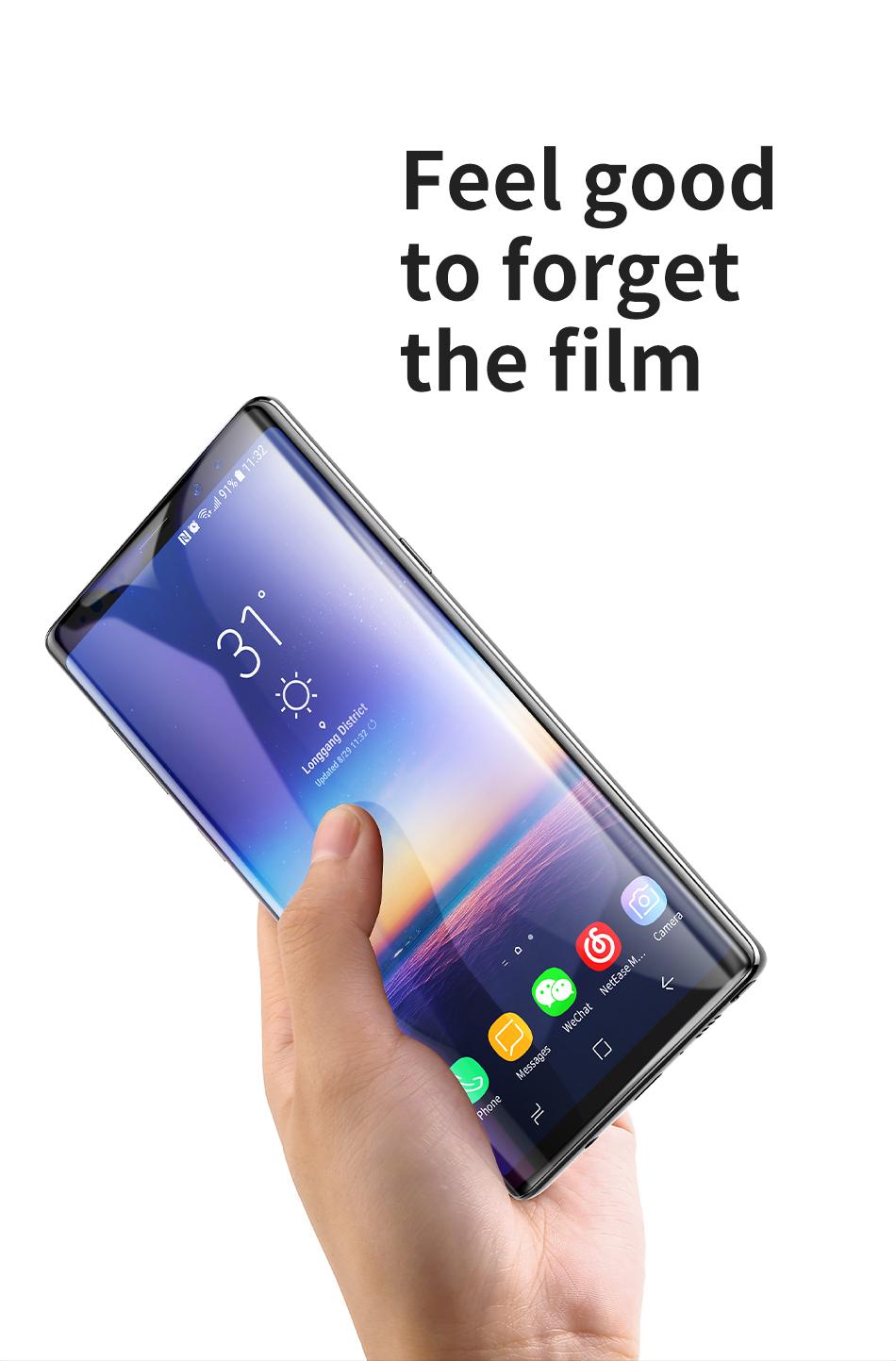 Baseus Samsung Note 9 0.3mm Full Cover Curve Black Tempered Glass_4.jpg