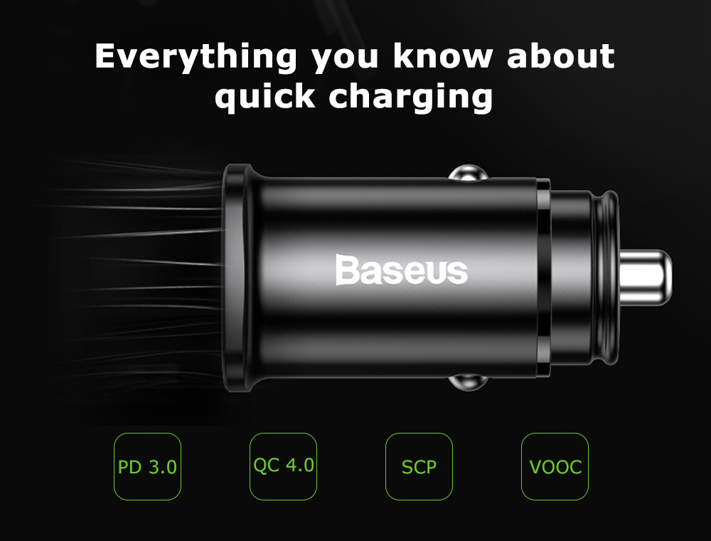 Baseus Car Charger Square metal A+C 30W PPS (PD 3.0 QC4.0 SCP AFC) Black (CCALL-AS01)_8.jpeg
