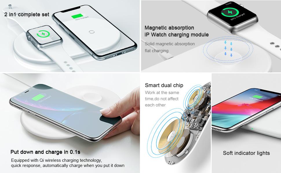 Baseus Smart 2in1 Wireless Charger White 2.jpg