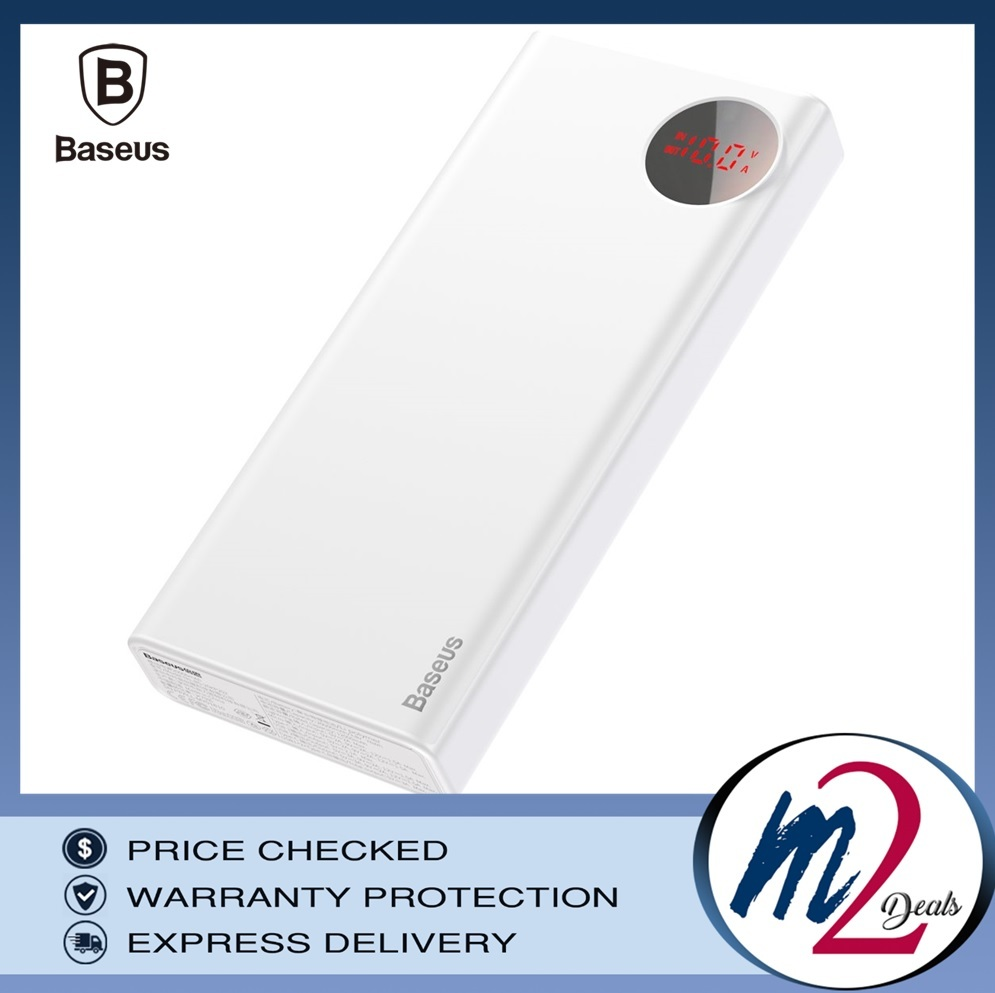Baseus Mulight PD3.0 Quick charge powerbank 20000mAh_white.jpg