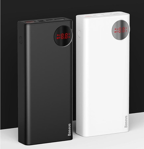 Baseus Mulight PD3.0 Quick charge powerbank 20000mAh_WHITE_1.jpg
