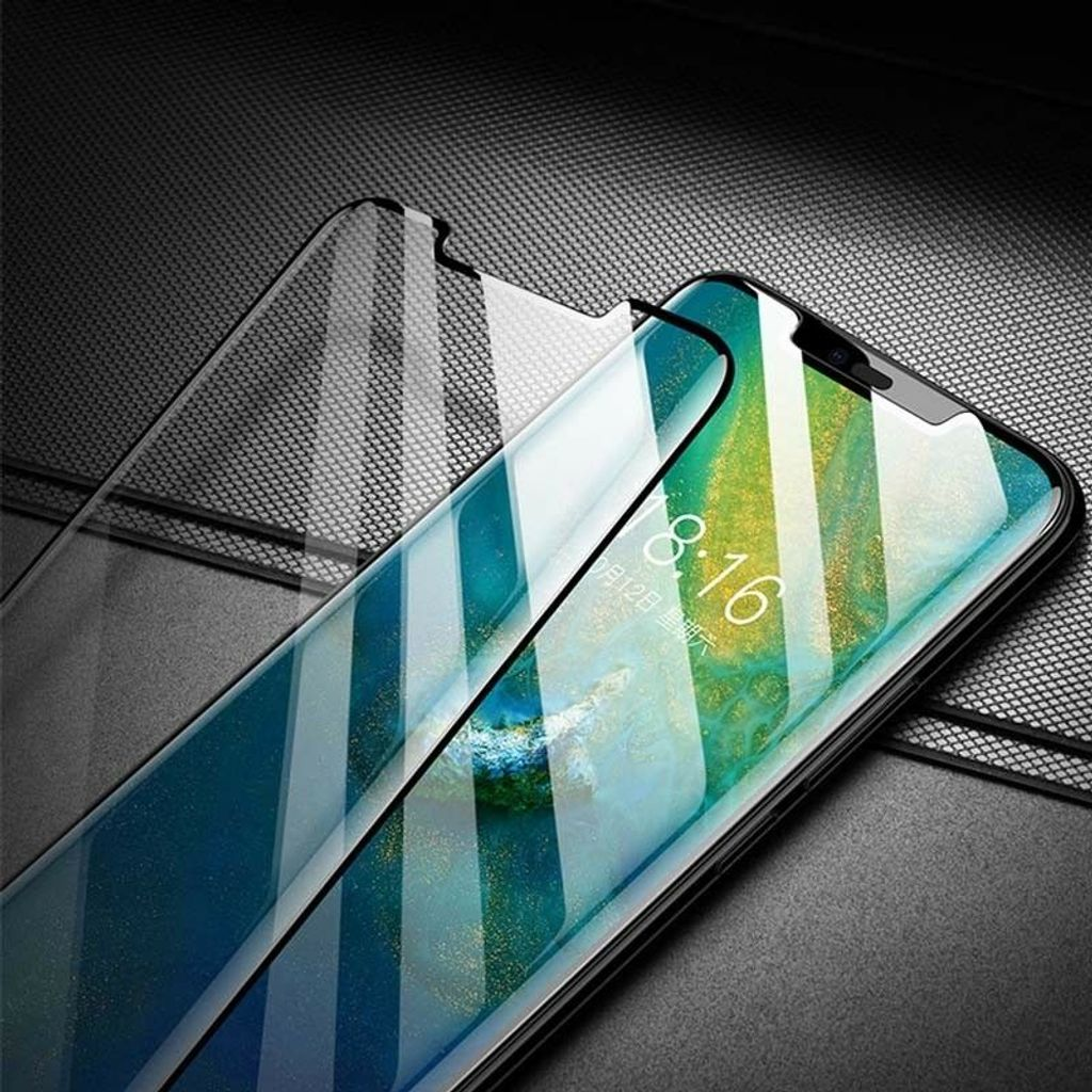 Baseus Huawei Mate20 Pro 0.15mm Full Cover Curve anti-explosion, soft Black screen protector_21.jpg