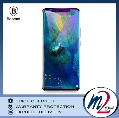 Baseus Huawei Mate20 Pro 0.3mm Anti-bluelight Full Cover Curve Black Tempered Glass_16.jpg