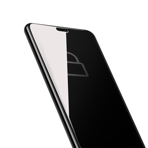 Baseus Huawei P20 0.3mm Privacy Full Cover Curve Anti-spy Black tempered glass_18.jpg