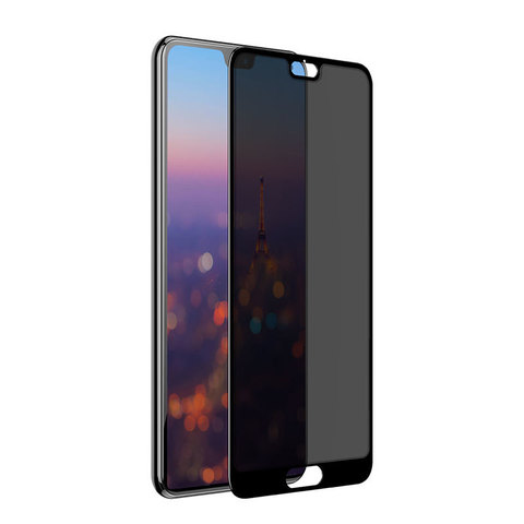 Baseus Huawei P20 0.3mm Privacy Full Cover Curve Anti-spy Black tempered glass_19.jpg