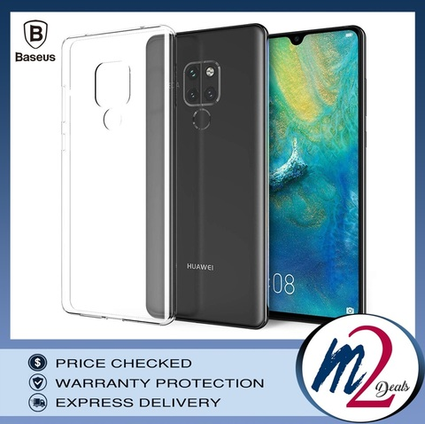 Baseus Simple Case For HUAWEI  MATE 20 Transparent1.jpg