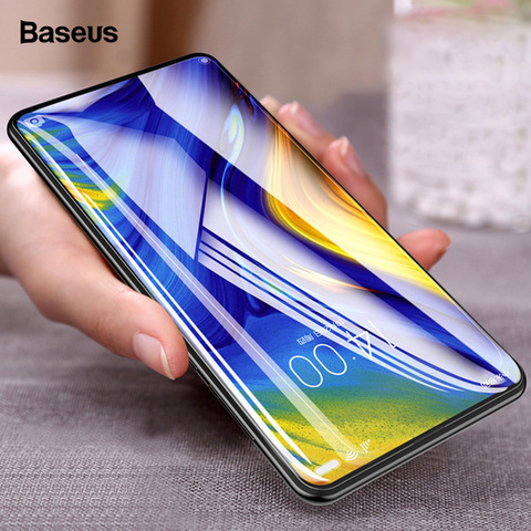 Baseus Xiaomi Mix 3 0.3mm  Anti-bluelight Full Cover Curve Black Tempered Glass.jpg