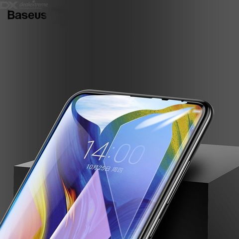 Baseus Xiaomi Mix 3 0.3mm  Anti-bluelight Full Cover Curve Black Tempered Glass1.jpg