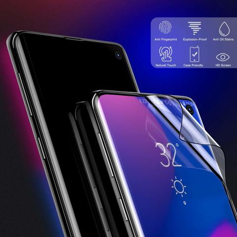 Baseus Samsung S10 0.15mm full-screen curved anti-explosion Black soft screen protector_10.jpg