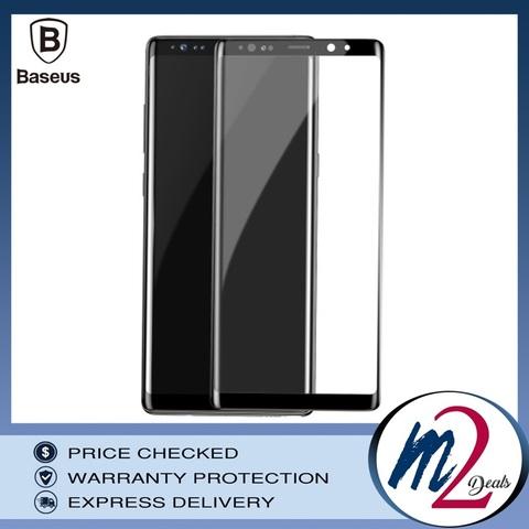 Baseus Samsung Note 8 0.3mm Full Cover Curve Black Tempered Glass_18.jpg