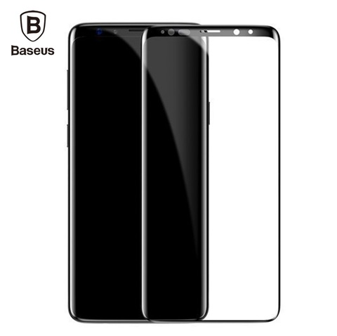 Baseus Samsung S9 and S9P 0.3mm Full Cover Curve Black Tempered Glass__1.jpg