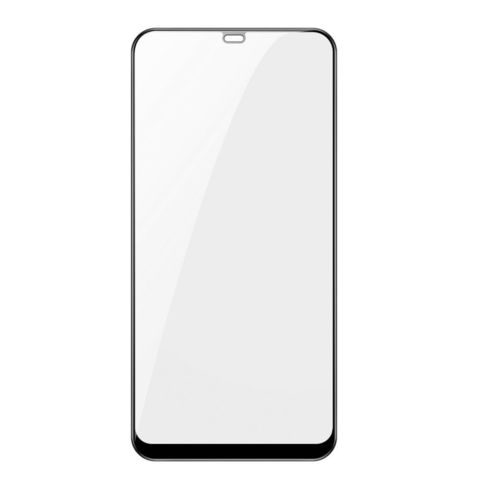 Baseus 0.3mm All-screen Arc-surface Tempered Glass Film For MI8 SE Black_4.jpg
