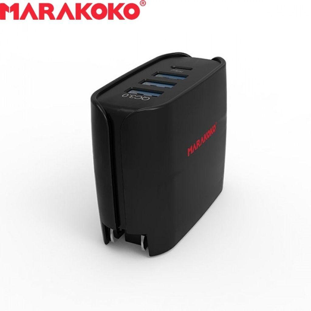 30W MARAKOKO MA11 MULTI- USB PORT FAST TRAVEL CHARGER_12.jpg