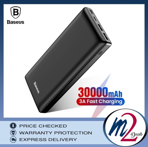 Baseus Mini JA Fast charge power bank 3A 30000mAh Black_11.jpg