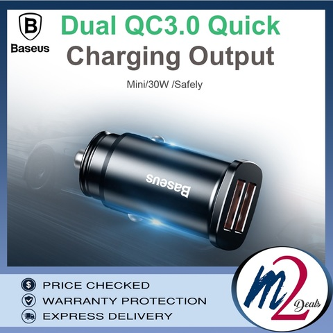 Baseus  Square metal A+A 30W  Dual QC3.0  Quick  Car Charger(QC3.0)_11.jpg
