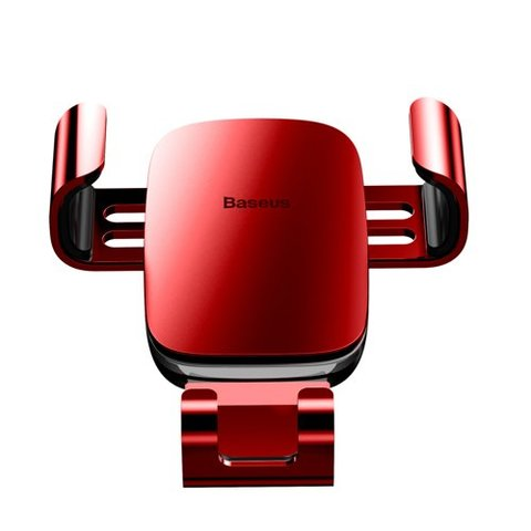 Baseus Metal Age Gravity Car Mount(Air Outlet Version)RED_5.jpg