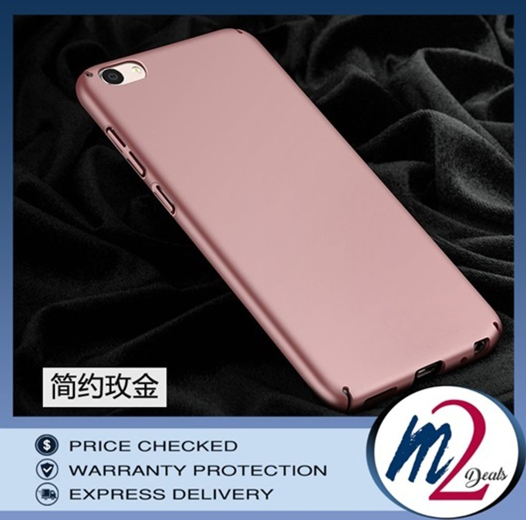 m2deals.my_frosted hard back cover casing_vivo y67_rose gold.jpg