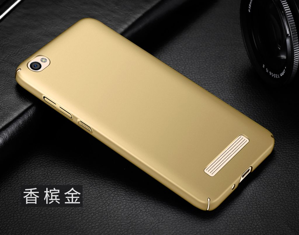 m2deals.my_frosted hard back cover casing_xiaomi redmi 4A_gold.jpg