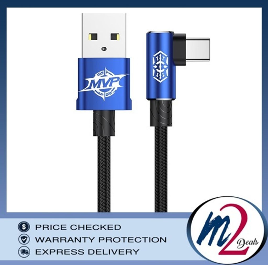 Baseus MVP Elbow Type Gaming Cable USB For Type-C 2A 1M _blue.jpg