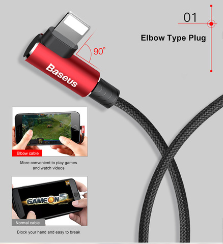Baseus MVP Elbow Type Gaming Cable USB For Apple iPhone 2A 1M_2.jpg
