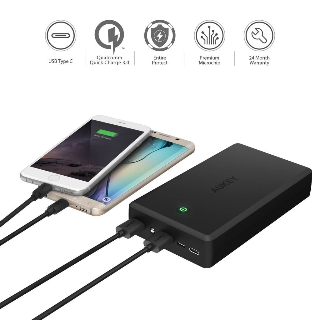 PB-Y3 30000mAh Qualcomm Quick Charge 3.0 Power Bank With USB C Output_5.jpeg