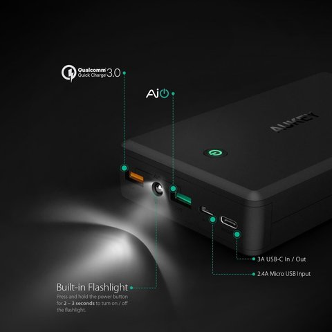 PB-Y3 30000mAh Qualcomm Quick Charge 3.0 Power Bank With USB C Output_2.jpeg