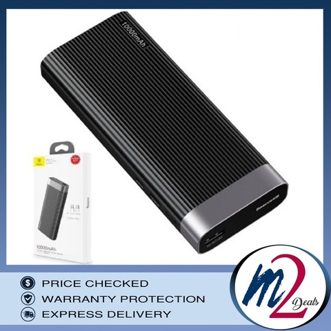 Parallel line portable version Powerbank (10000mAH)_BK_1.jpg