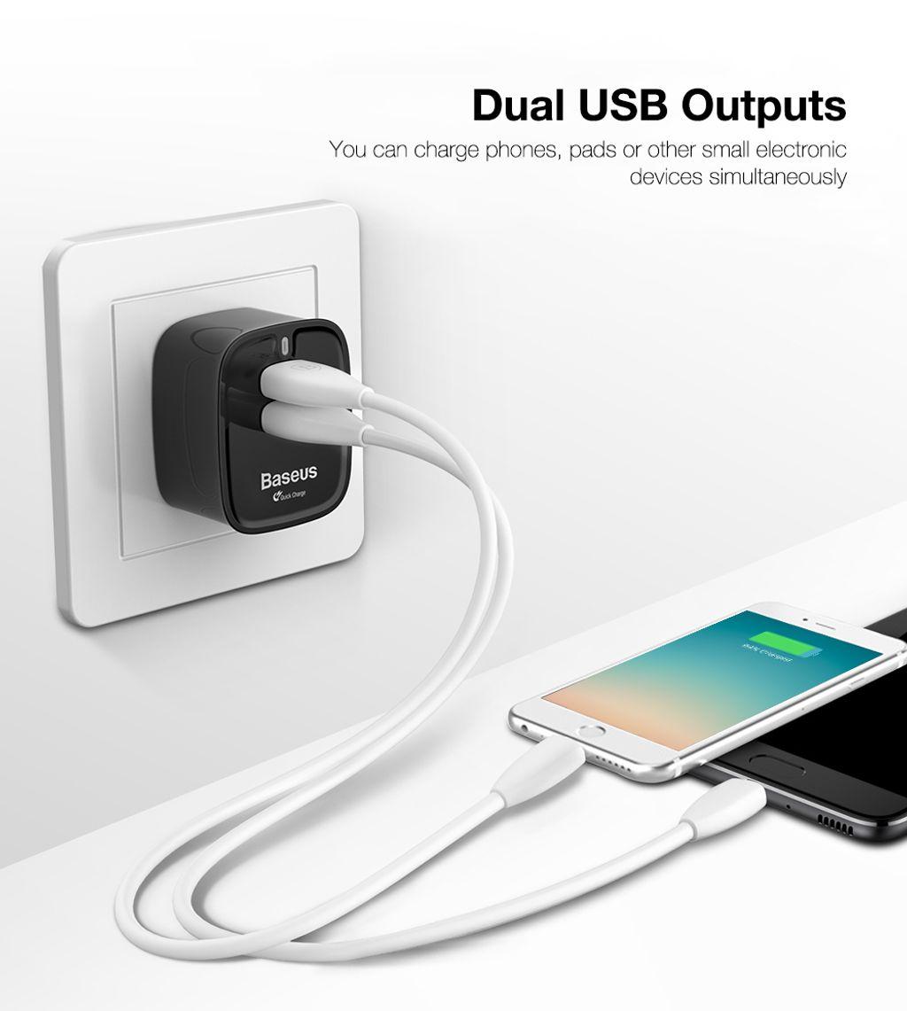 FUNZI QC 3.0 DUAL USB SMART TRAVEL CHARGER (UK PLUG )_9.jpeg
