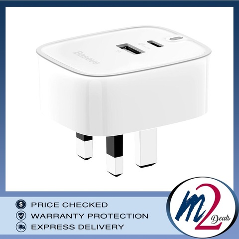 Funzi U+ Type-C Charger (UK)_WH_1.jpg